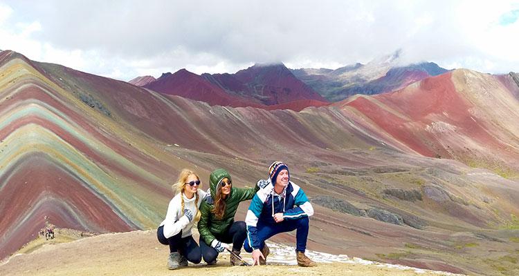Rainbow Mountains &  Machu Picchu  2D